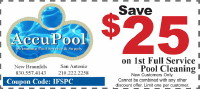 Pool Service Coupon