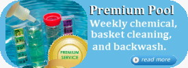 Premium Pool Chemical Service